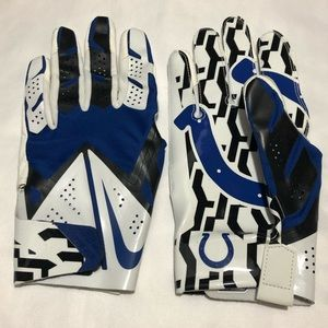 Nike NFL Vapor Fly Colts Football Gloves Men Large
